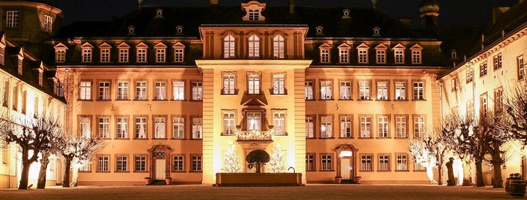 Schloss Berleburg beleuchtet