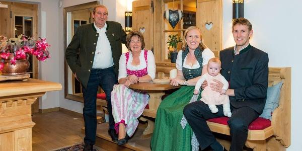 Familie Moser Alpengasthof Rossmoos