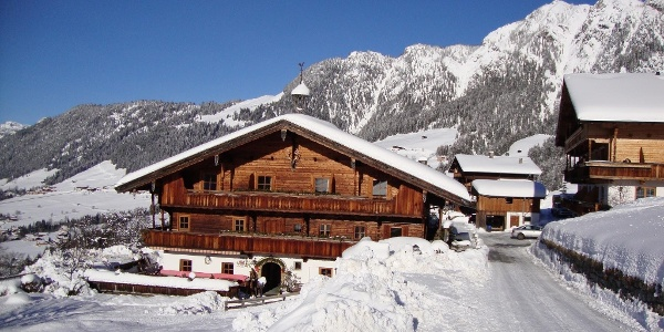 Alpenasthof Rossmoosi im Winter