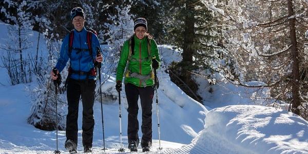 Winterwandern in Niederthai