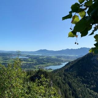 Ausblick vom Falkenstein Richtung Weißensee