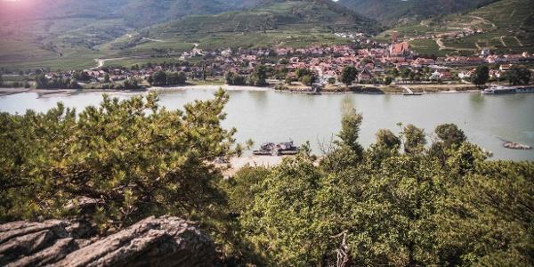 Ausblick aufs nördliche Donauufer