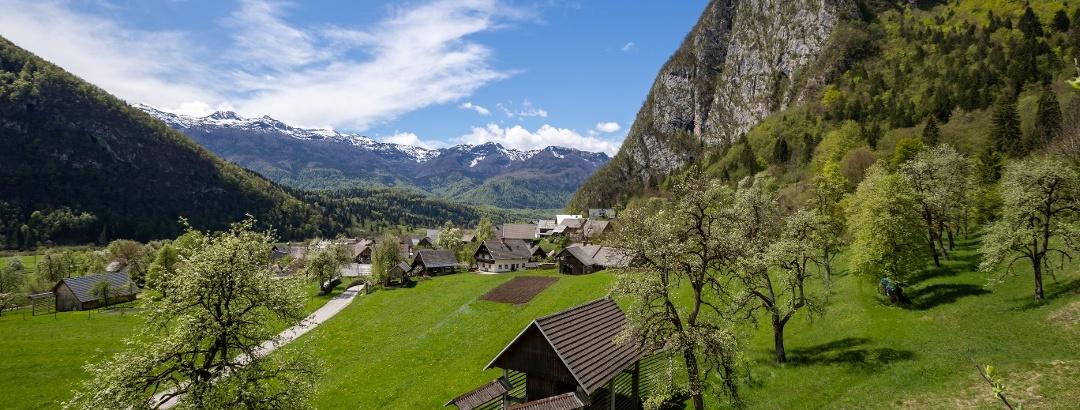 Bohinj, Studor, Zgornja Bohinjska dolina
