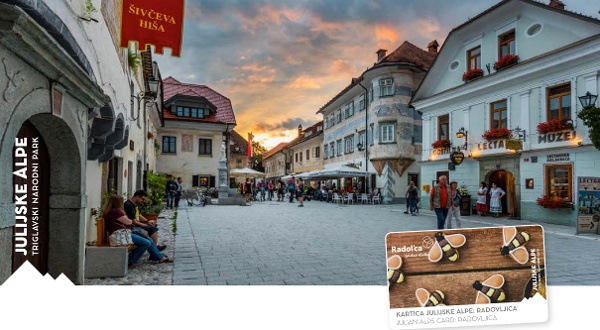 The Julian Alps Card: Radovljica/Radolca