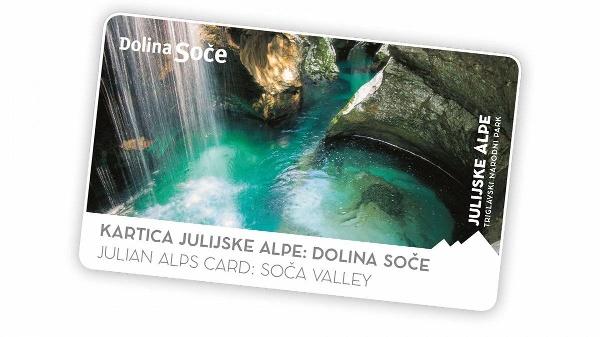 The Julian Alps Card: Soča Valley