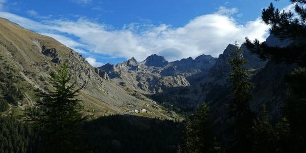 Madone de Fenestre und die Cime du Gelas