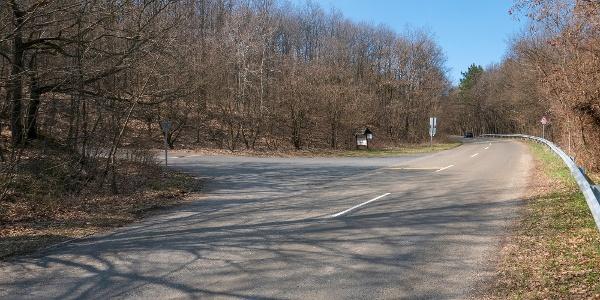 A főúttól balra néhány száz méter a Kis Rigó Vendéglő