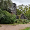 Teil der alten Hindenburgbrücke
