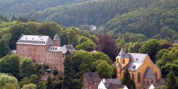 Schloss und Schlosskirche Schleiden