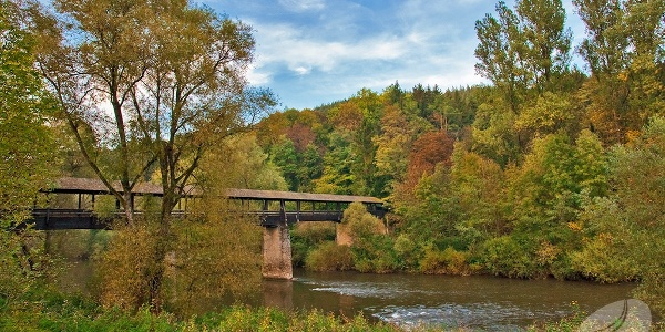 Alfred-Töpfer-Brücke in Weilerbach