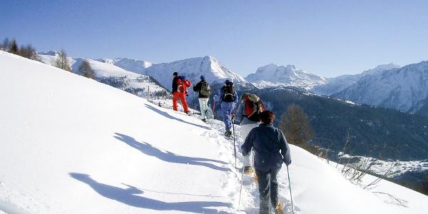 Faszinierende Ausblicke auf die Walliser Alpen
