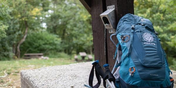 A kőris-hegyi Országos Kéktúra-pecsételőhely (OKTPH_41)
