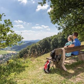 Ausblick über Hilchenbach