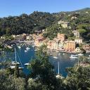 Portofino von oben