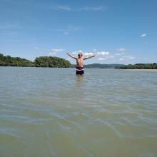 Árad a Duna Kisoroszi csücskénél