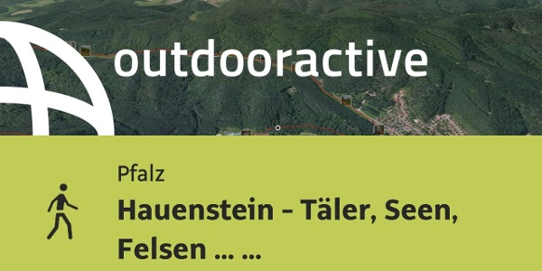 Wanderung in der Pfalz: Hauenstein - Täler, Seen, Felsen ... wunderschön!