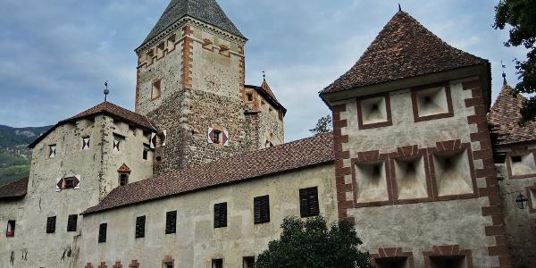 Der Gebäudekomplex der Trostburg