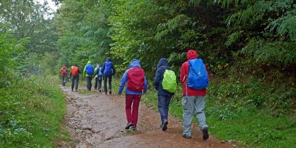 Auf dem Weg zum Col du Litschhof