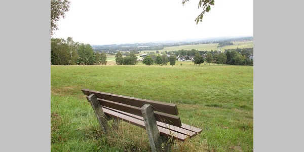 Blick vom Bezelberg Richtung Falkenstein