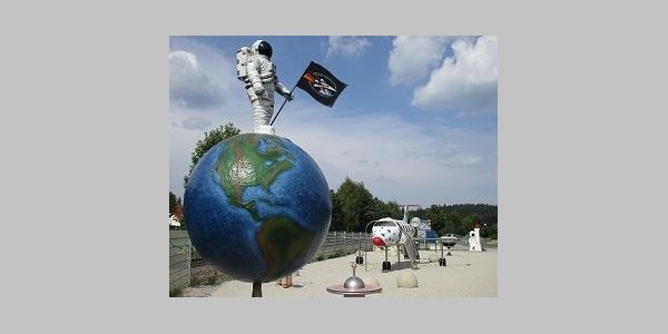 Spielplatz an der Deutschen Raumfahrtausstellung Morgenröthe Rautenkranz