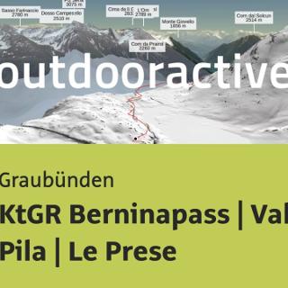 Mountainbike-tour in Graubünden: KtGR Berninapass | Val da Pila | Le Prese