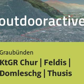Mountainbike-tour in Graubünden: KtGR Chur | Feldis | Domleschg | Thusis