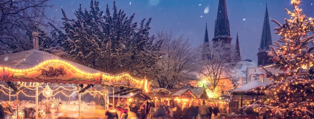 Weihnachtsmarkt zur besinnlichen Jahreszeit
