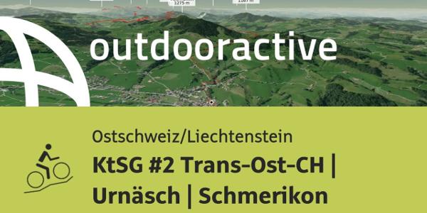 Mountainbike-tour in der Ostschweiz/Liechtenstein: KtSG #2 Trans-Ost-CH | Urnäsch | Schmerikon