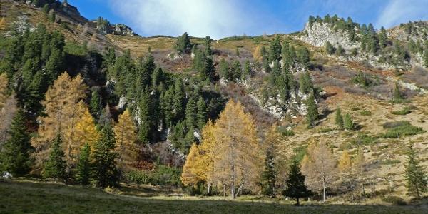 Herbst bei der Triebener Hütte