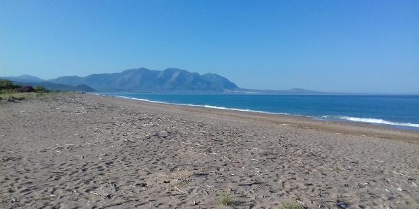 Vom Strand in Elia nach Nea Figalia