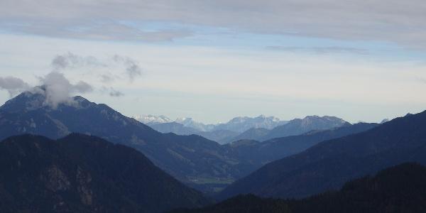 Blick Richtung Alpenhauptkamm