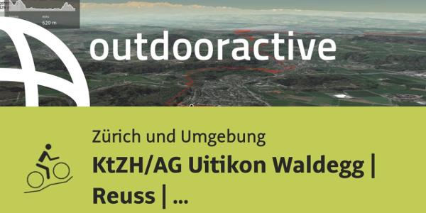 Mountainbike-tour in Zürich und Umgebung: KtZH/AG Uitikon Waldegg | Reuss | Chörnlisberg | Baden