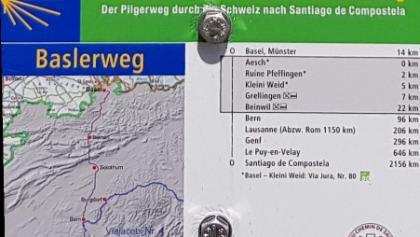 The official Baselweg, although we detoured via Burgdorf