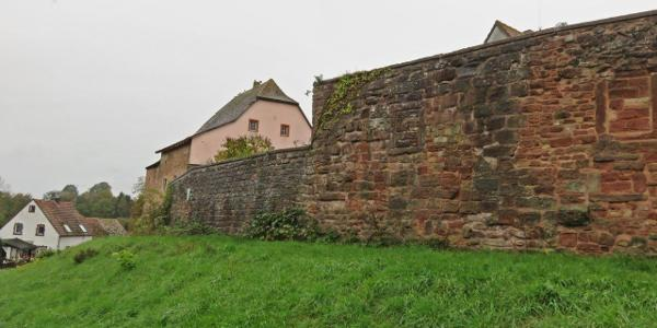 les ramparts de Hornbach