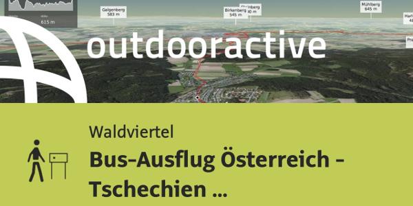 Themenweg im Waldviertel: Bus-Ausflug Österreich - Tschechien 26.10.2019 19:46