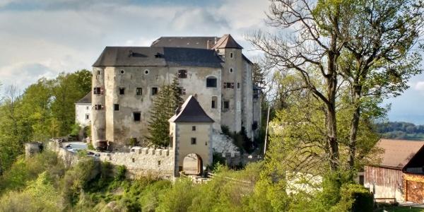 Etappenort am 05er: Die Burg Plankenstein