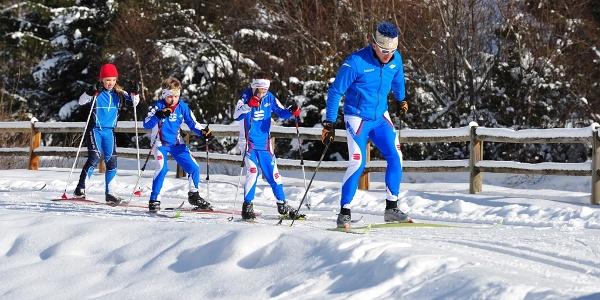 Centro Fondo Vermiglio, lezione di sci con maestro