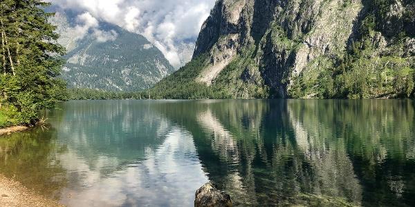 Der Obersee am Königssee