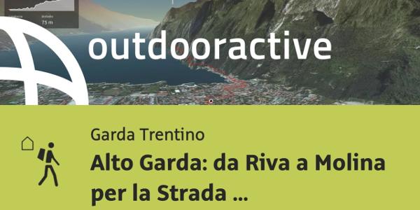 Escursione di lunga distanza al Lago di Garda: Alto Garda: da Riva a Molina ...