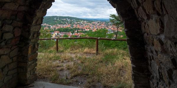 Kilátás a Cserkészkápolnából
