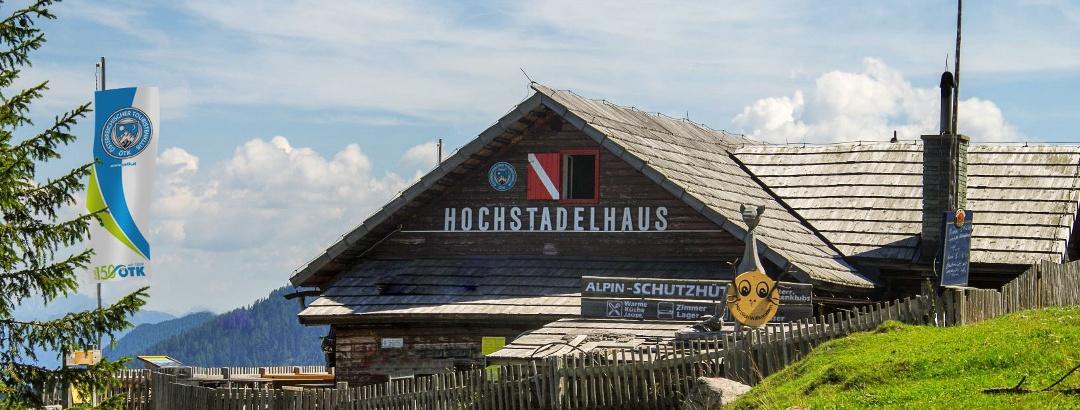 ÖTK-Hochstadelhaus in den Lienzer Dolomiten