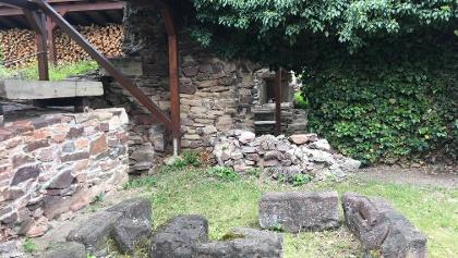 Mauern des ehemaligen Kloster Cronschwitz