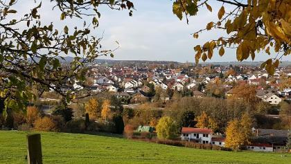 Panoramablick auf Ihringshausen