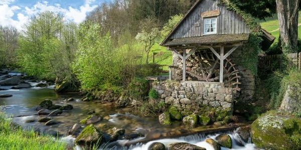 Die Rainbauernmühle in Ottenhöfen-Furschenbach