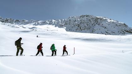 Schneeschuh laufen in Lenzerheide