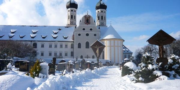 Basilika des Klosters Benediktbeuern