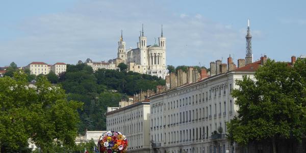 Lyon - Basilika Notre Dame de Fourvière