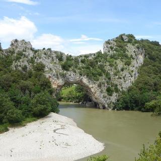 Pont d'Arc über die Ardèche
