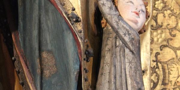 Flügelaltar in Meerane - Detail
