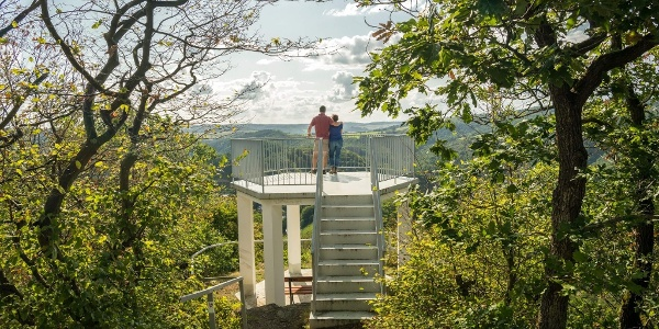 Aussichtsplattform Goethepunkt